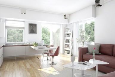 Maurer Residence Sighișoara - apartament de tip studio finisat la cheie