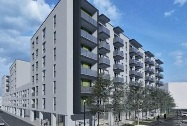 The New Ego Residence - studio de 37,20 mp + balcon
