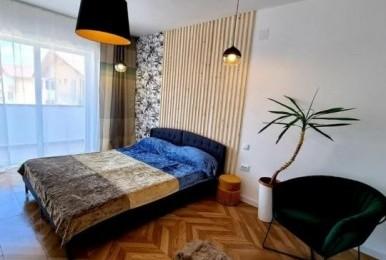 2 camere ultrafinisate + balcon, complet mobilate si utilate, in zona Florești