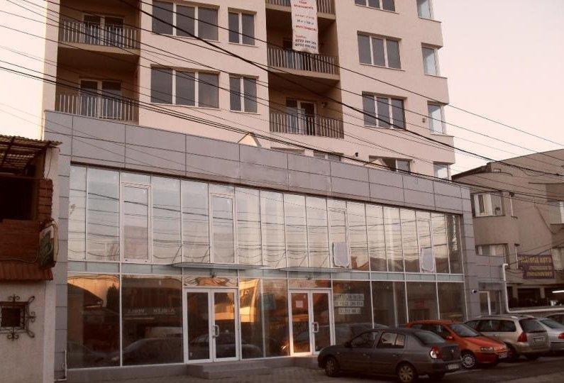 Birou cu suprafața de 200 mp + terasă și 2 locuri de parcare, amplasare Centrală
